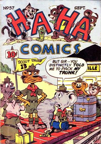 Ha Ha Comics #57 Comic Books - Covers, Scans, Photos  in Ha Ha Comics Comic Books - Covers, Scans, Gallery