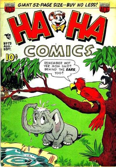 Ha Ha Comics #73 Comic Books - Covers, Scans, Photos  in Ha Ha Comics Comic Books - Covers, Scans, Gallery