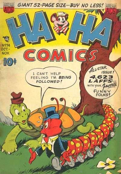 Ha Ha Comics #74 Comic Books - Covers, Scans, Photos  in Ha Ha Comics Comic Books - Covers, Scans, Gallery
