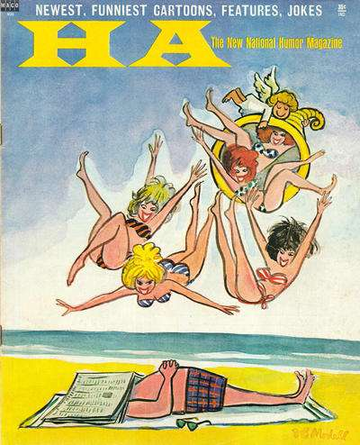 Ha: The New National Humor Magazine #1 comic books - cover scans photos Ha: The New National Humor Magazine #1 comic books - covers, picture gallery