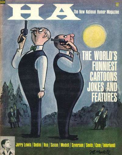 Ha: The New National Humor Magazine #2 Comic Books - Covers, Scans, Photos  in Ha: The New National Humor Magazine Comic Books - Covers, Scans, Gallery