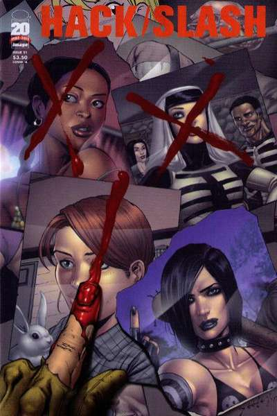 Hack/Slash #21 comic books for sale