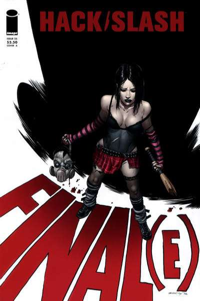 Hack/Slash #25 comic books for sale