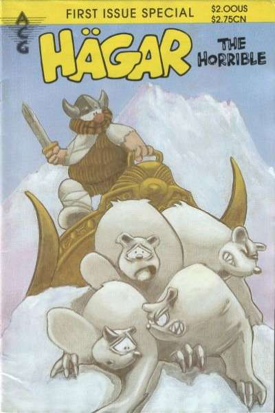 Hagar the Horrible comic books