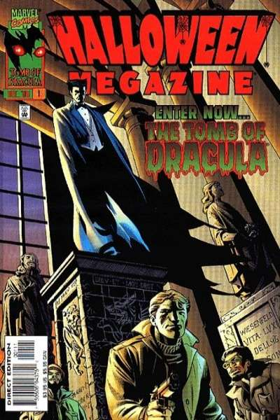 Halloween Megazine #1 comic books - cover scans photos Halloween Megazine #1 comic books - covers, picture gallery