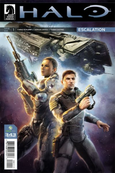 Halo: Escalation Comic Books. Halo: Escalation Comics.