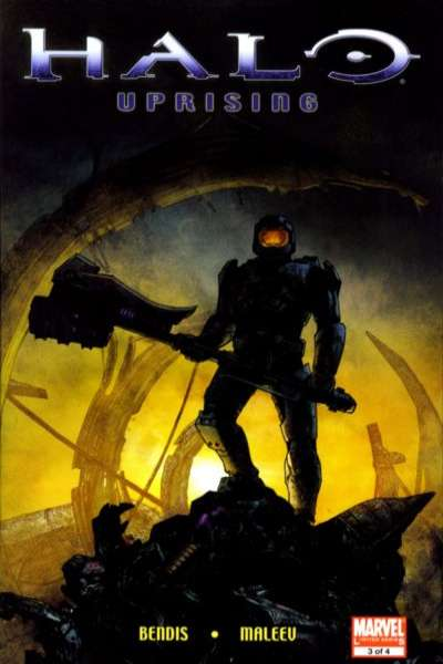 Halo: Uprising #3 Comic Books - Covers, Scans, Photos  in Halo: Uprising Comic Books - Covers, Scans, Gallery