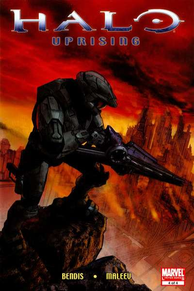 Halo: Uprising #4 Comic Books - Covers, Scans, Photos  in Halo: Uprising Comic Books - Covers, Scans, Gallery