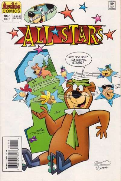 Hanna-Barbera All-Stars Comic Books. Hanna-Barbera All-Stars Comics.