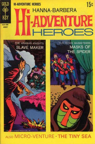 Hanna-Barbera Hi-Adventure Heroes #2 comic books for sale