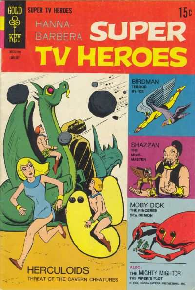 Hanna-Barbera Super TV Heroes #4 comic books - cover scans photos Hanna-Barbera Super TV Heroes #4 comic books - covers, picture gallery