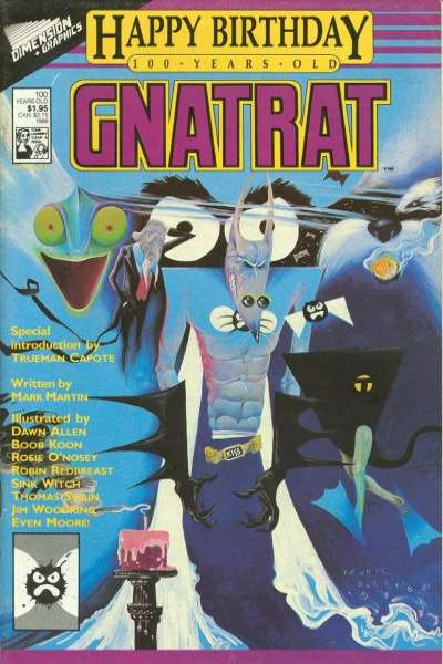 Happy Birthday GnatRat Comic Books. Happy Birthday GnatRat Comics.