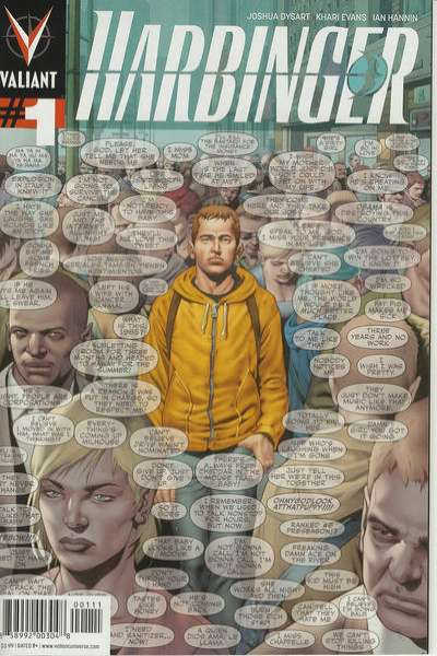 Harbinger comic books