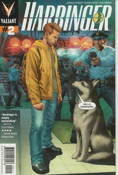 Harbinger #2 Comic Books - Covers, Scans, Photos  in Harbinger Comic Books - Covers, Scans, Gallery