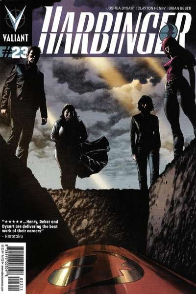 Harbinger #23 Comic Books - Covers, Scans, Photos  in Harbinger Comic Books - Covers, Scans, Gallery