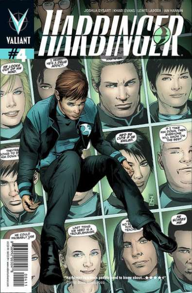 Harbinger #4 comic books - cover scans photos Harbinger #4 comic books - covers, picture gallery
