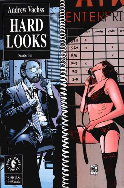 Hard Looks #10 comic books - cover scans photos Hard Looks #10 comic books - covers, picture gallery