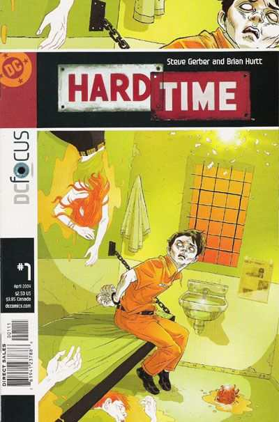 Hard Time comic books