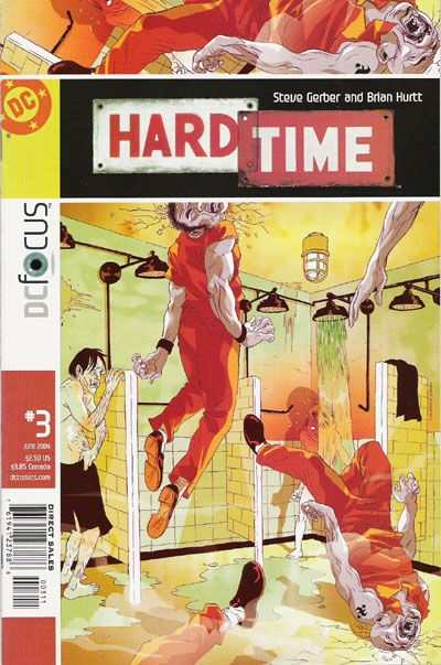 Hard Time #3 comic books - cover scans photos Hard Time #3 comic books - covers, picture gallery