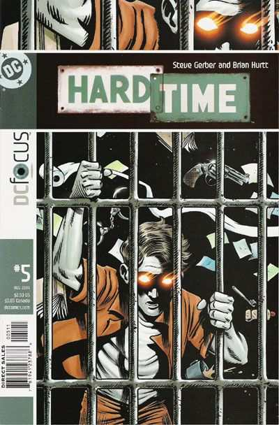 Hard Time #5 comic books - cover scans photos Hard Time #5 comic books - covers, picture gallery