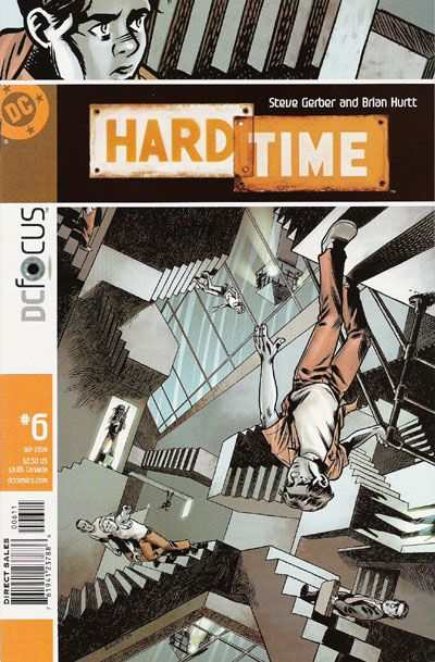 Hard Time #6 comic books - cover scans photos Hard Time #6 comic books - covers, picture gallery