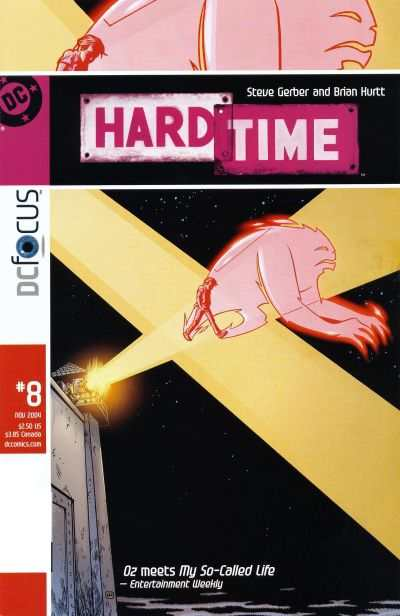 Hard Time #8 comic books - cover scans photos Hard Time #8 comic books - covers, picture gallery