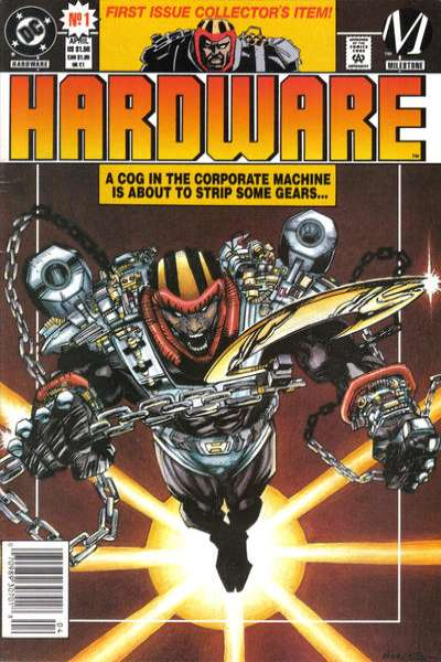 Hardware #1 Comic Books - Covers, Scans, Photos  in Hardware Comic Books - Covers, Scans, Gallery