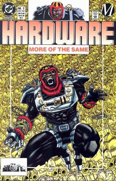 Hardware #2 Comic Books - Covers, Scans, Photos  in Hardware Comic Books - Covers, Scans, Gallery