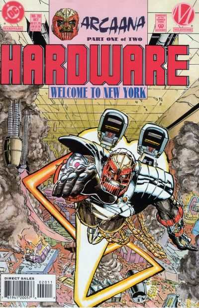 Hardware #20 comic books - cover scans photos Hardware #20 comic books - covers, picture gallery