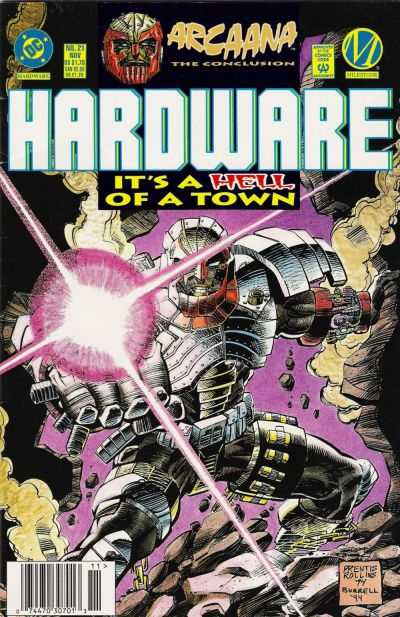 Hardware #21 comic books - cover scans photos Hardware #21 comic books - covers, picture gallery