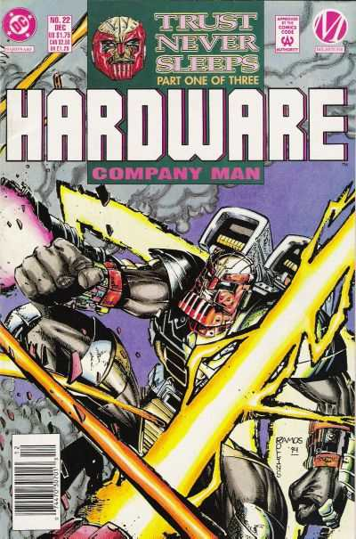 Hardware #22 comic books - cover scans photos Hardware #22 comic books - covers, picture gallery