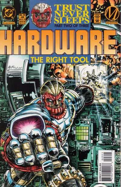 Hardware #23 Comic Books - Covers, Scans, Photos  in Hardware Comic Books - Covers, Scans, Gallery