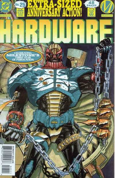 Hardware #25 comic books - cover scans photos Hardware #25 comic books - covers, picture gallery