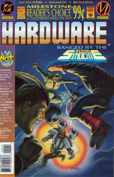 Hardware #29 comic books - cover scans photos Hardware #29 comic books - covers, picture gallery