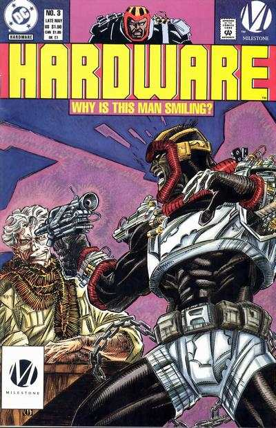 Hardware #3 Comic Books - Covers, Scans, Photos  in Hardware Comic Books - Covers, Scans, Gallery