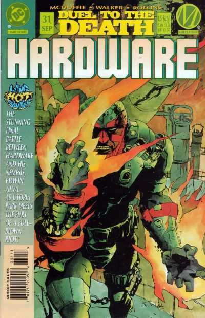 Hardware #31 comic books - cover scans photos Hardware #31 comic books - covers, picture gallery