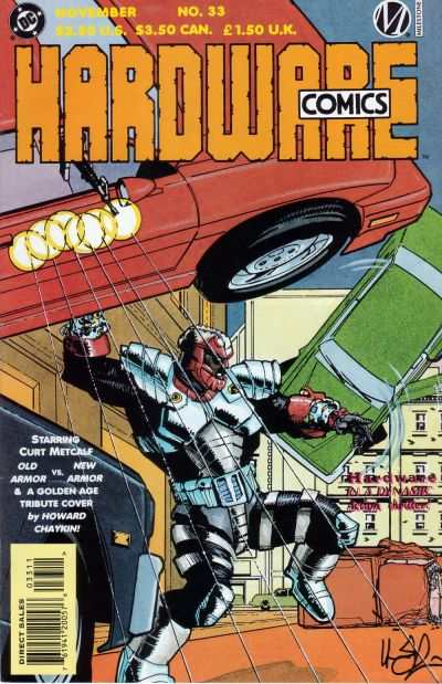 Hardware #33 comic books - cover scans photos Hardware #33 comic books - covers, picture gallery