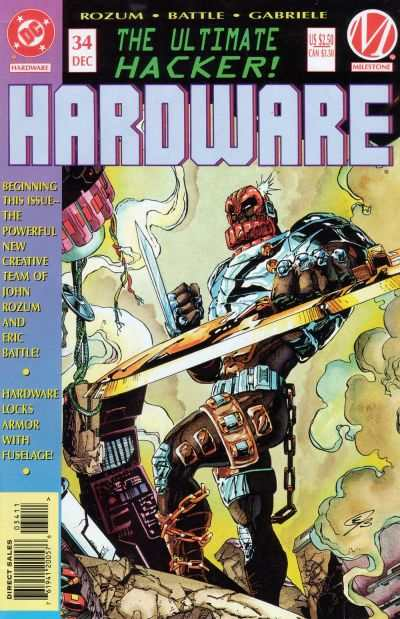 Hardware #34 Comic Books - Covers, Scans, Photos  in Hardware Comic Books - Covers, Scans, Gallery