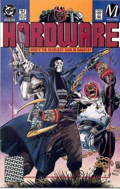 Hardware #5 comic books - cover scans photos Hardware #5 comic books - covers, picture gallery
