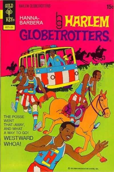 Harlem Globetrotters #5 comic books - cover scans photos Harlem Globetrotters #5 comic books - covers, picture gallery