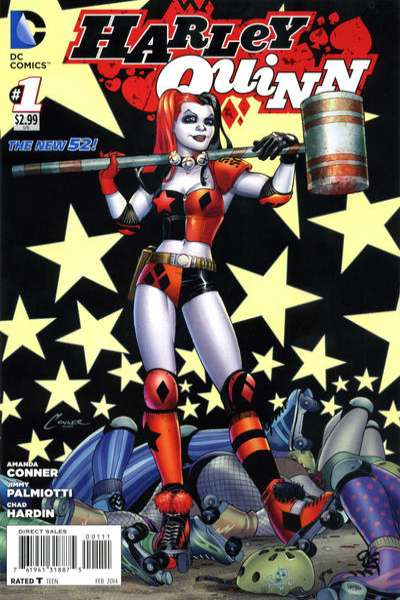 Harley Quinn comic books