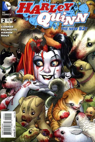 Harley Quinn #2 Comic Books - Covers, Scans, Photos  in Harley Quinn Comic Books - Covers, Scans, Gallery