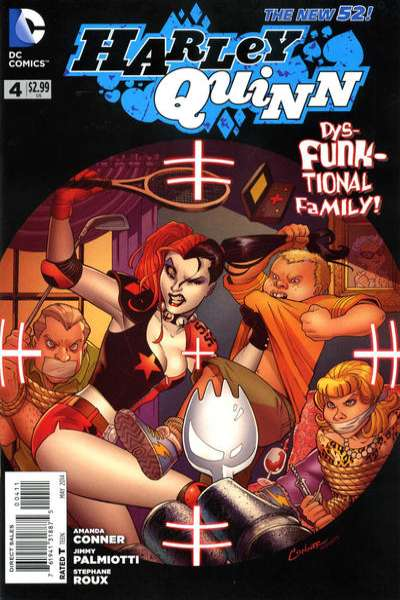 Harley Quinn #4 Comic Books - Covers, Scans, Photos  in Harley Quinn Comic Books - Covers, Scans, Gallery