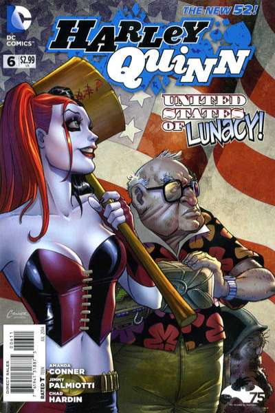 Harley Quinn #6 comic books - cover scans photos Harley Quinn #6 comic books - covers, picture gallery