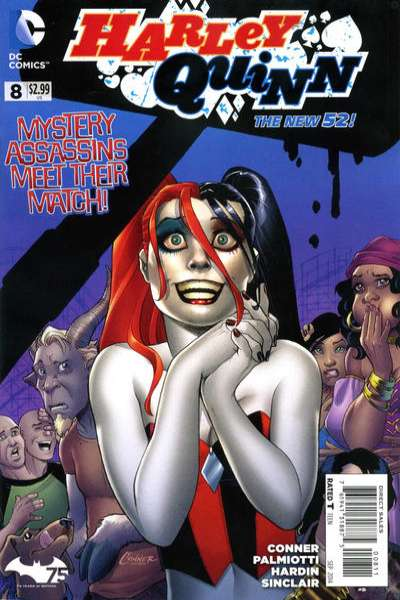 Harley Quinn #8 comic books for sale