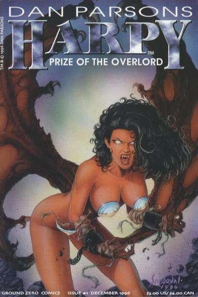 Harpy: Prize of the Overlord #1 comic books - cover scans photos Harpy: Prize of the Overlord #1 comic books - covers, picture gallery
