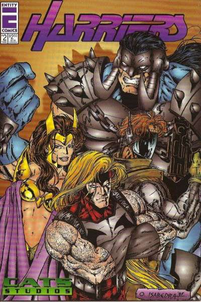Harriers #2 comic books - cover scans photos Harriers #2 comic books - covers, picture gallery