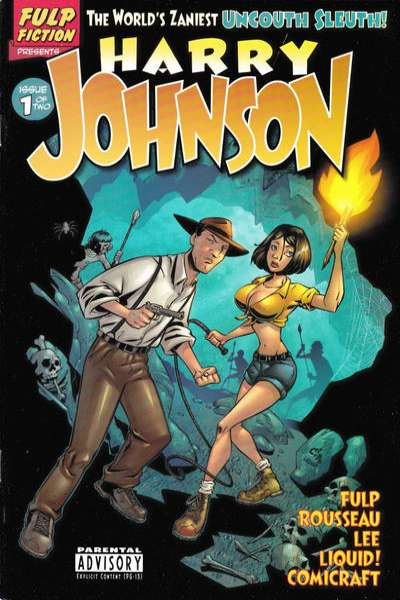 Harry Johnson #1 comic books - cover scans photos Harry Johnson #1 comic books - covers, picture gallery