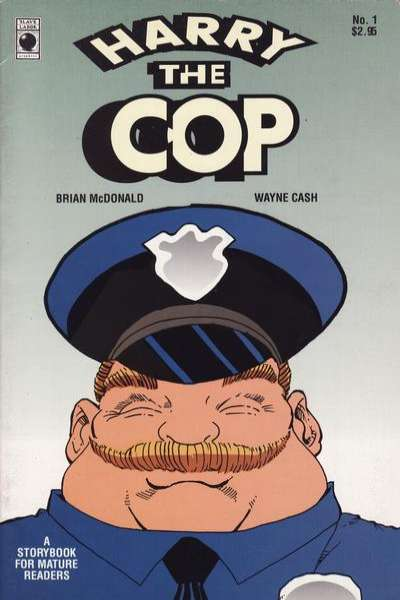 Harry the Cop comic books