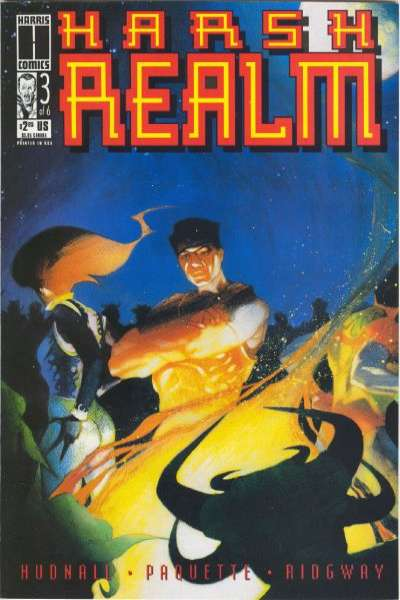 Harsh Realm #3 comic books for sale